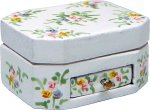 Flower Patterned Keepsake Box