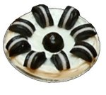 """Oreo"" Cookie Pie"